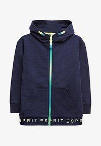 Esprit - Hoodie met rits - midnight blue - 0