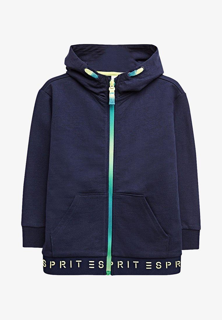 Esprit - Hoodie met rits - midnight blue