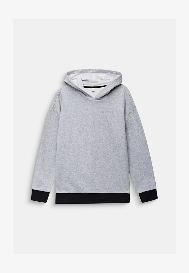 HOODED SWEATSHIRT - Hoodie - heather silver