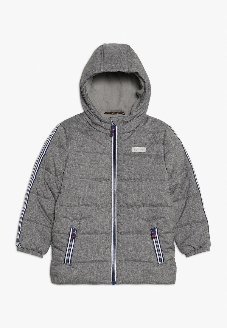 Esprit - PARKA - Chaqueta de invierno - mid heather grey