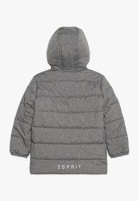Esprit - PARKA - Chaqueta de invierno - mid heather grey - 1
