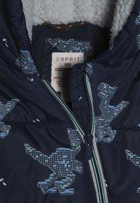 Esprit - OVERALL SNOW BABY - Snowsuit - indigo - 5
