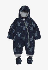 Esprit - OVERALL SNOW BABY - Snowsuit - indigo - 4