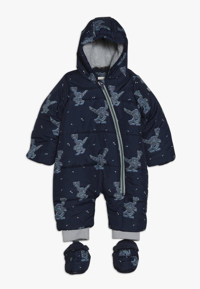 Esprit - OVERALL SNOW BABY - Snowsuit - indigo