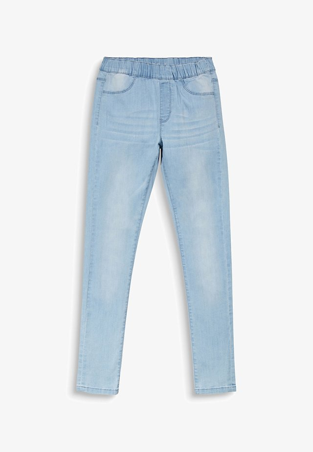 DENIM JEGGINGS - Jeggings - light indigo denim