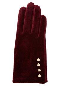 Esprit - COSY  - Handschoenen - bordeaux red - 1