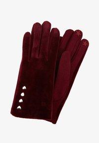 Esprit - COSY  - Handschoenen - bordeaux red - 0