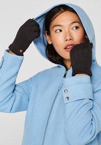 Esprit - GLOVES - Gloves - black - 0