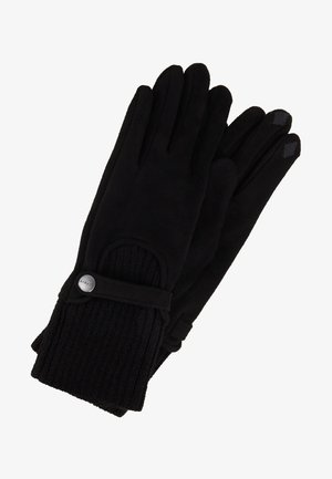 MIXEDGLOVES - Gloves - black