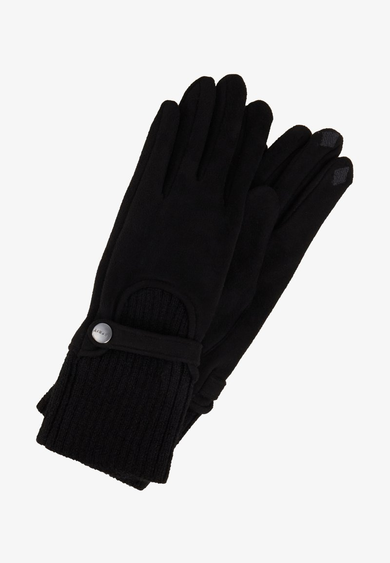 Esprit - MIXEDGLOVES - Rukavice - black