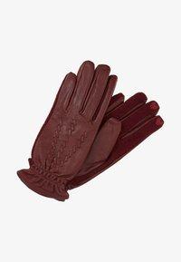 Esprit - Fingervantar - dark red - 0