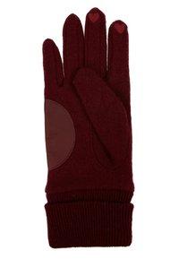 Esprit - SPORTY - Gloves - garnet red - 2
