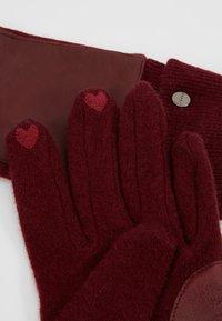 Esprit - SPORTY - Gloves - garnet red - 3