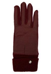 Esprit - SPORTY - Gloves - garnet red - 1