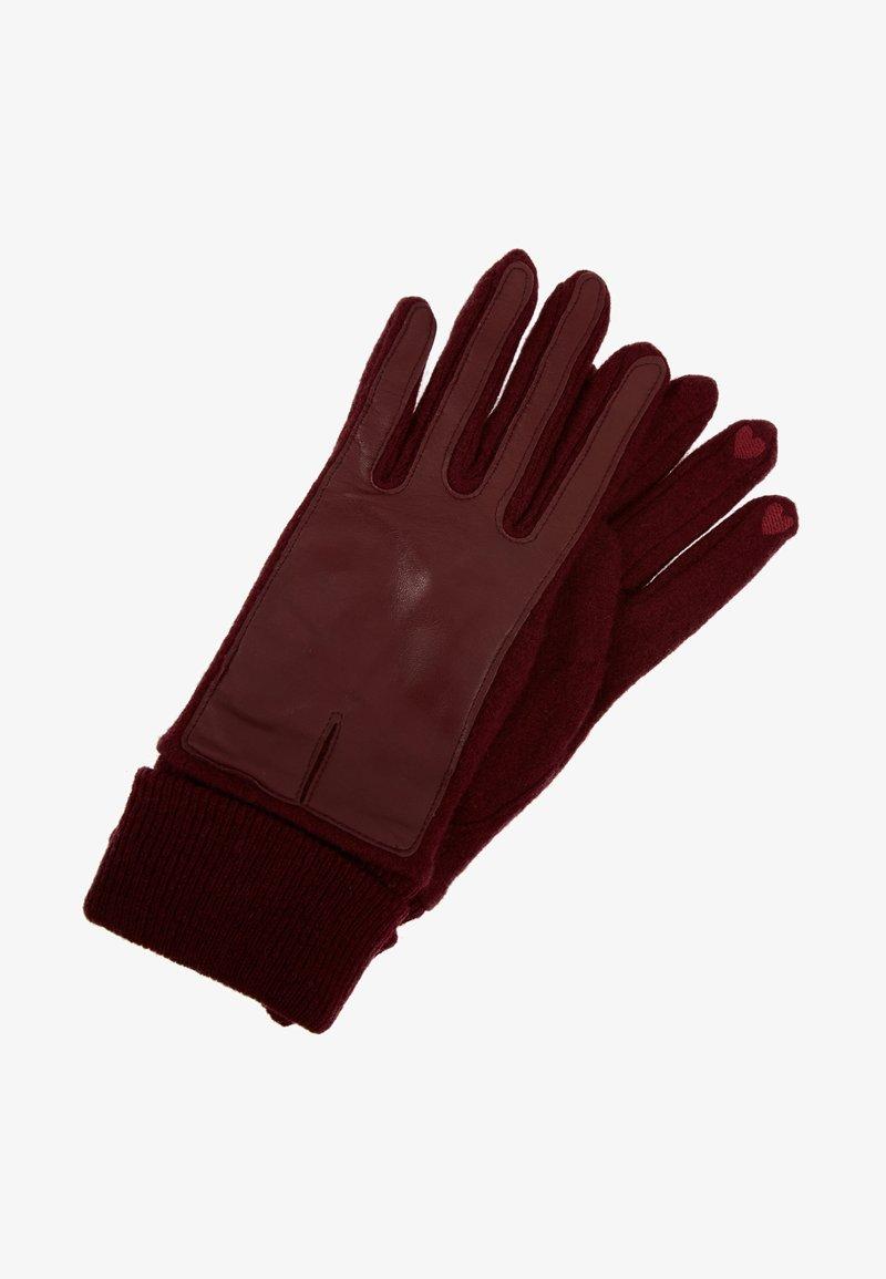 Esprit - SPORTY - Gloves - garnet red
