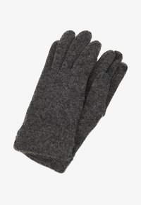 Esprit - GLOVES - Gants - dark grey - 0