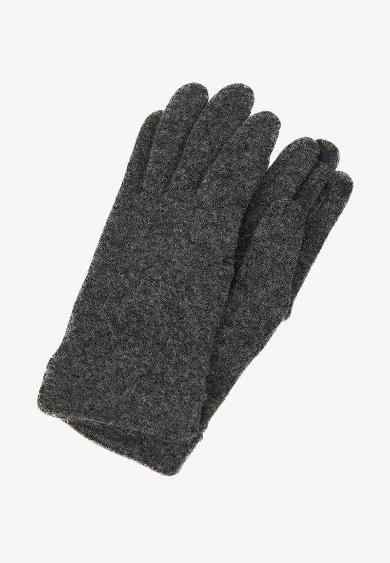 Esprit - GLOVES - Gants - dark grey