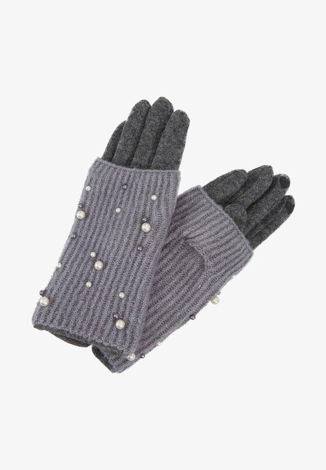 2-IN-1 - Fingerhandschuh - grey