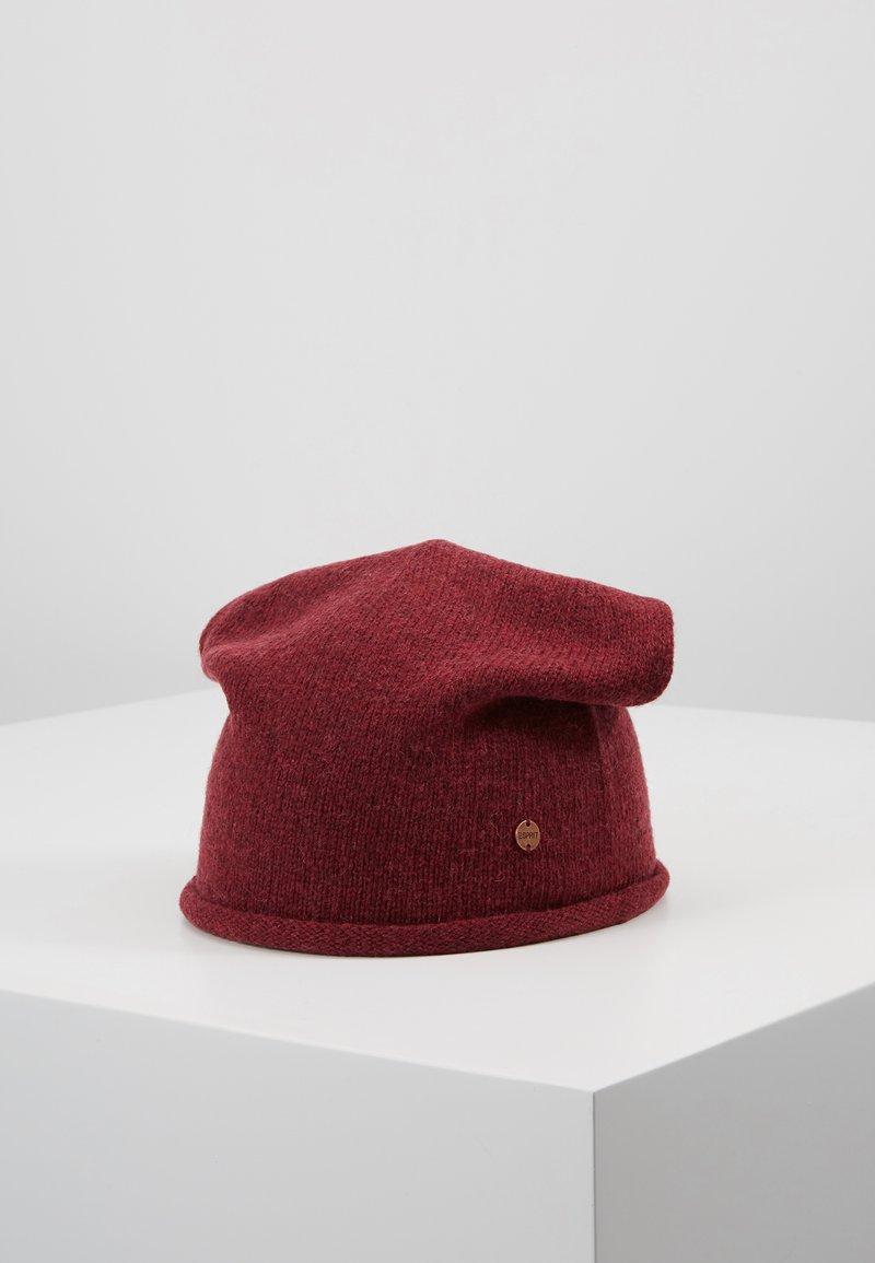 Esprit - BEANI - Mütze - bordeaux red