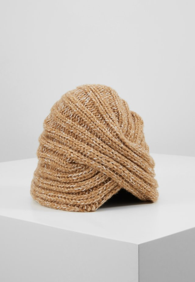 WINTER FANCY TURB - Beanie - cream beige