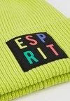 Esprit - THROWBACK UNISEX BEANIE - Beanie - green
