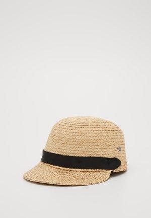 RAFIA CAP - Kšiltovka - sand