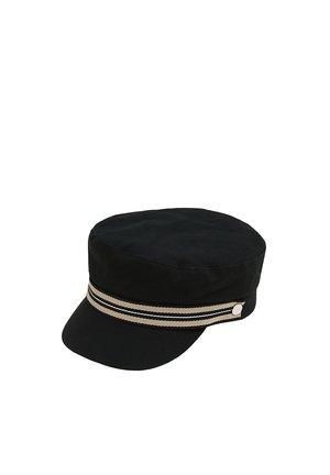 SCHIFFERMÜTZE AUS 100% BAUMWOLLE - Cap - black