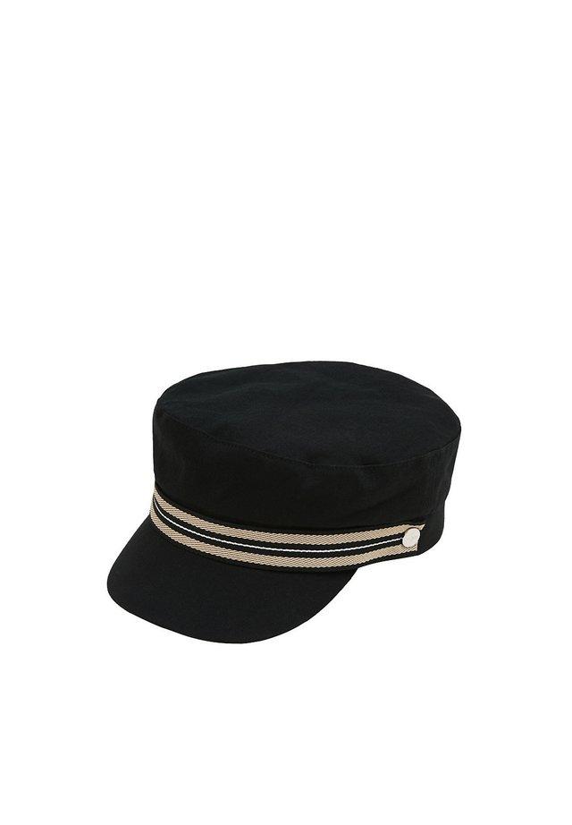 SCHIFFERMÜTZE AUS 100% BAUMWOLLE - Casquette - black