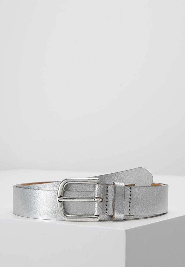 Esprit - METALLIC BELT - Belt - silver