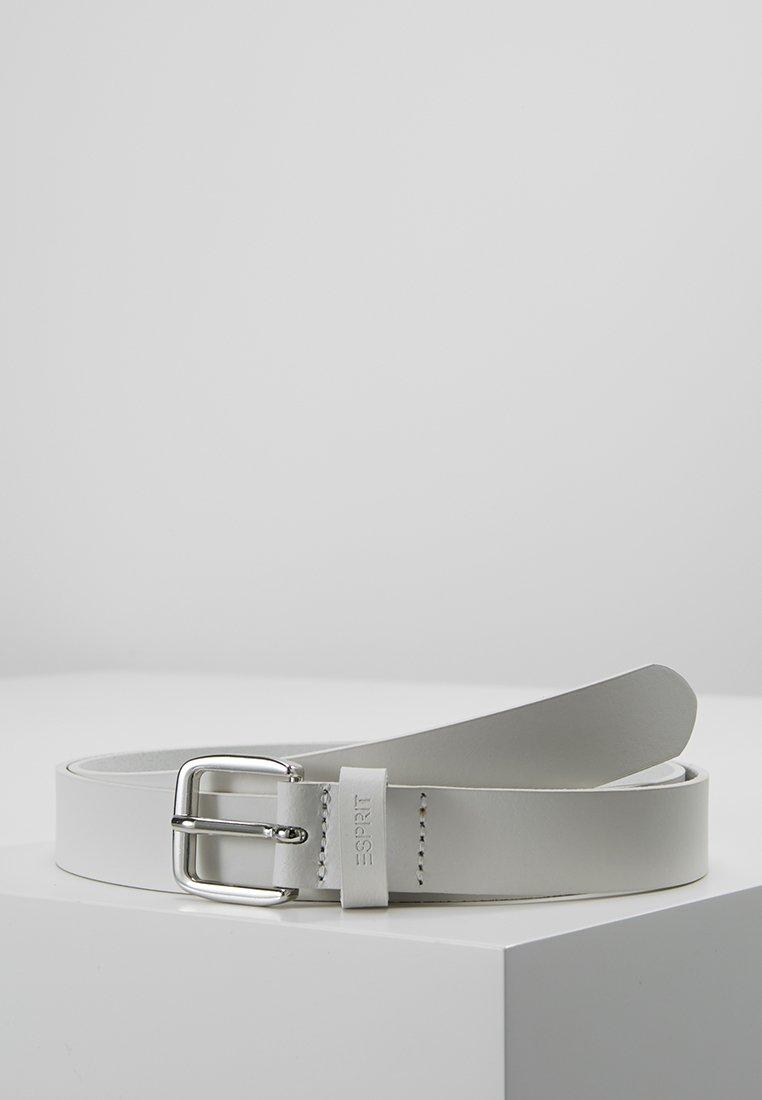 Esprit - OSN SLIM BASIC - Pásek - white