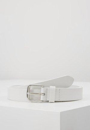 SLIM BASIC - Ceinture - white