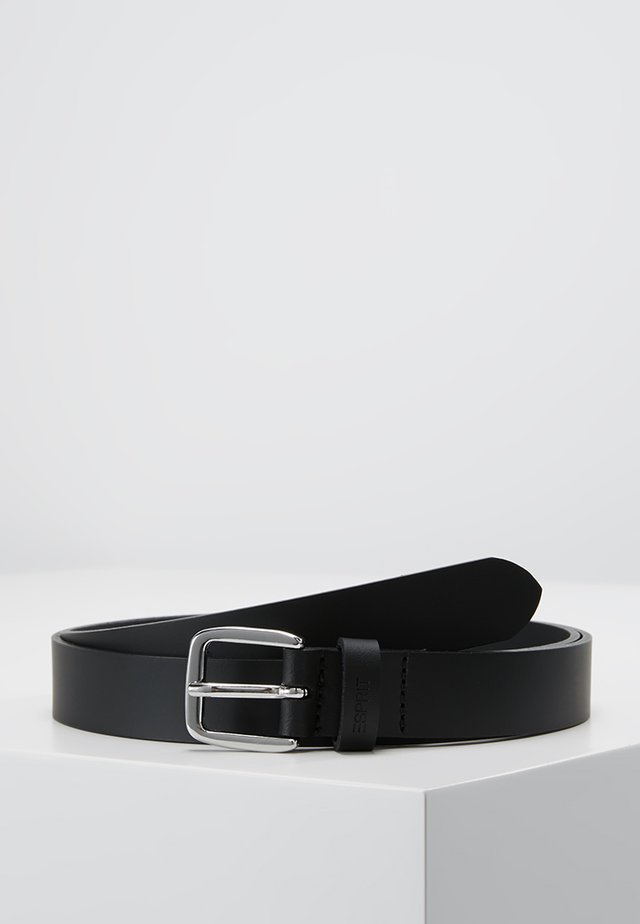 SLIM BASIC - Pasek - black