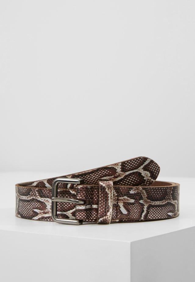 SNAKEBELT - Cinturón - brown