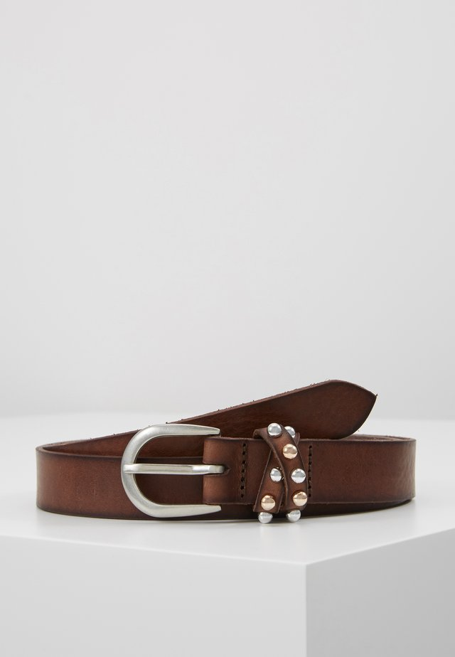 LOOP BELT - Skärp - brown