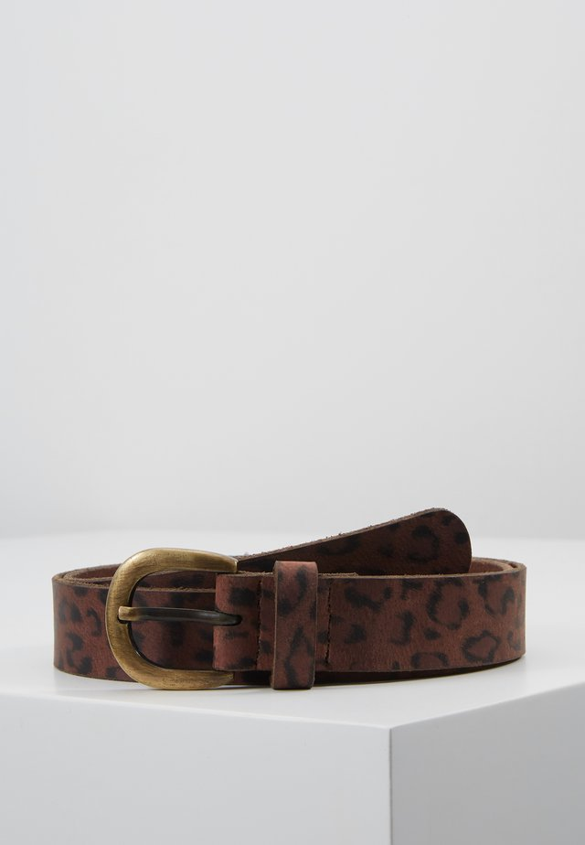 LEO BELT - Skärp - brown