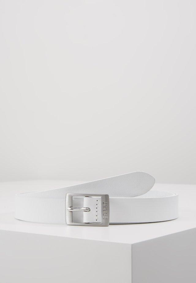 OCTAVIA - Gürtel - white