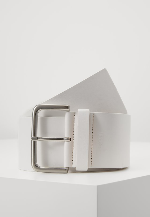 WIDE HIP BELT - Pasek - off white