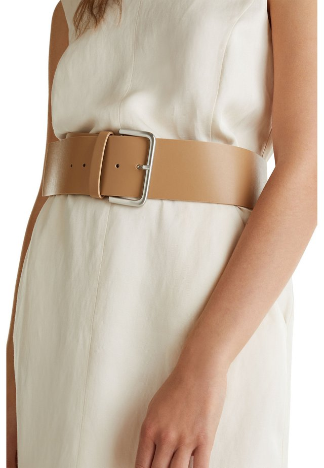 WIDE HIP BELT - Taillengürtel - CREAM BEIGE