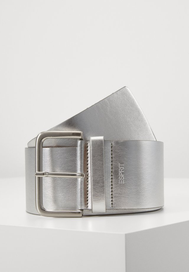 WIDE HIP BELT - Pasek - silver
