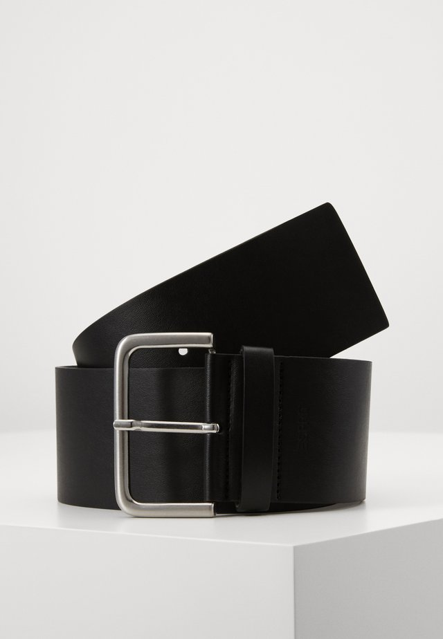 WIDE HIP BELT - Pasek - black