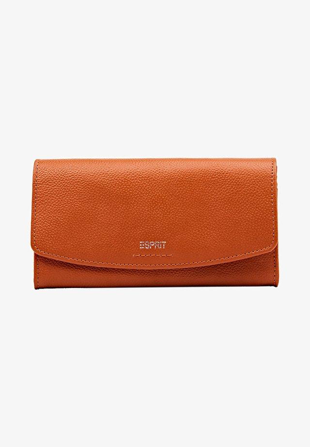 Plånbok - burnt orange