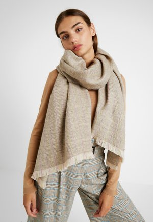 PINSTRIPE SCARF - Schal - light taupe