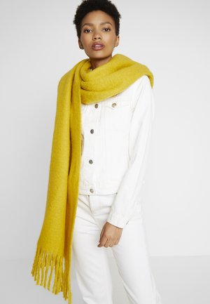 SOLID CHUNKY - Scarf - brass yellow
