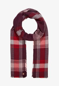 Esprit - SMARTCHECKS - Scarf - bordeaux red - 1