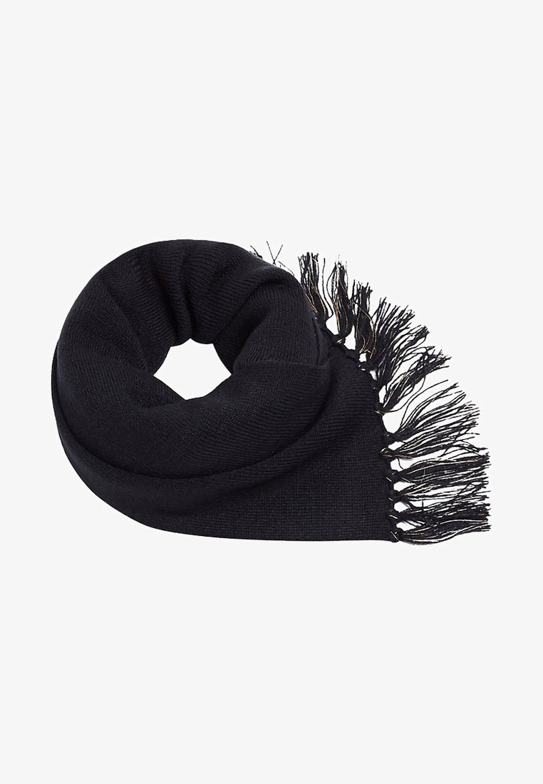 Esprit - MIT FRANSEN - Sjaal - black