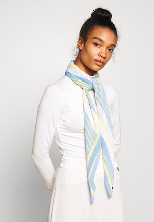 PLISSEESQUARE - Skjerf - light blue