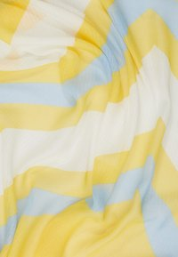 Esprit - ZIGZAG SCARF - Sjal - yellow - 1