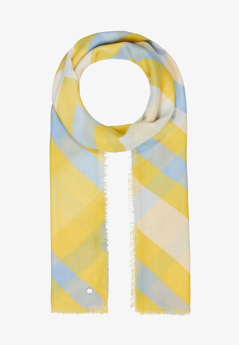 Esprit - ZIGZAG SCARF - Sjal - yellow