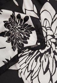Esprit - FLOWERMIX - Foulard - black - 1