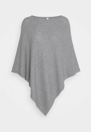 PONCH - Poncho - medium grey